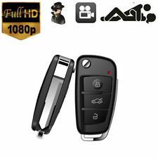 1280P HD Covert Hidden Key Chain Key Fob Spy Camera DVR IR Night View Mini Cam