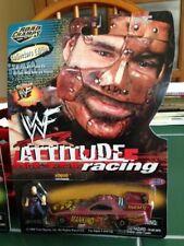 "JERRY TOLIVER WWF ATTITUDE RACING ""MANKIND"" 1/64 NHRA F/C DIECAST W/FIGURINE!!!"