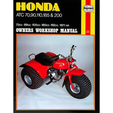 Honda ATC70 ATC90 ATC110 ATC185 ATC200 1971-85 Haynes Workshop Manual