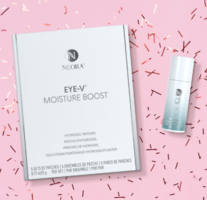 CLEARANCE SALE 50%OFF Neora Age IQ Eye Serum & Eye-V Moisture Hydrogel Patch SET