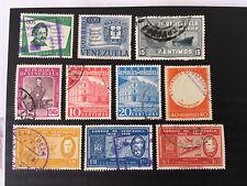 Venezuela Vintage Stamps Used