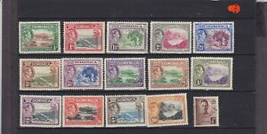 Dominica KGVI SG 99-109 Mounted Mint Collection