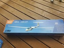 Eflite UMX Ask-21 Glider BNF RC remote Control airplane Horizon NEW NICE