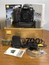 Nikon D700 12.1MP Digital SLR Camera Body With Grip, Box, Software, Manual