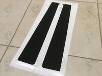 PEUGEOT 106 GTI RALLYE XSI DOOR B PILLAR TEXTURED WEATHER STRIP EXTERIOR VINYLS