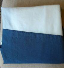 Queen size bedskirt Medium Blue