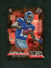 2014 Odell Beckham Jr. Bowman Chrome Topps Shelf Rookie RC #TSR-OB