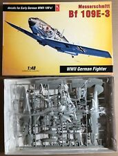 HOBBY CRAFT HC1569 - MESSERSCHMITT Bf 109E-3 - 1/48 PLASTIC KIT NUOVO