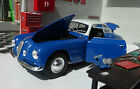 G LGB 1:24 Scale Alfa Romeo 6C 2500 1949 Blue Whitebox Diecast Detailed Model