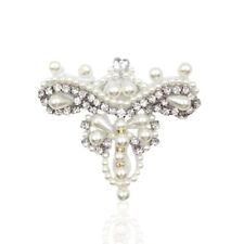 Vestido de Novia artesanía De Diamantes De Imitación Con Cuentas Zapatos Decoración Cristal Escote Apliques de 2 piezas
