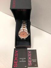 Sekonda Ladies Seksy Rose Gold Plated/Stainless Steel Quartz Watch 4233.37