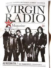 Aerosmith Heineken Jammin Festival programme magazine Italy 2010 Virgin Radio .