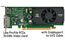 nVidia Quadro FX 380 Video Graphics Card 512MB PCI-Express x16 LOW PROFILE