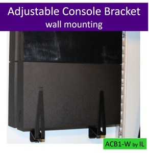 Adjustable console bracket wall mount PS4 / PS4 Slim / PS4 Pro