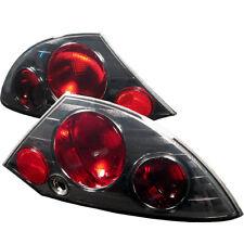 Mitsubishi 00-02 Eclipse Smoke Rear Tail Lights Brake Lamp Set GS GT Spyder