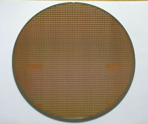 Collectable Semiconductor Silicon Wafer with components #12