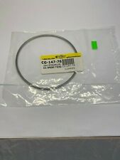 New Chemglass Fep Stainless Steel 100mm Flange O Ring Cg 147 76 Reactor