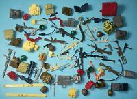 Lot GI Joe Cobra 1980s Figure Weapons Guns Backpacks Battle Gear Accessory Pack