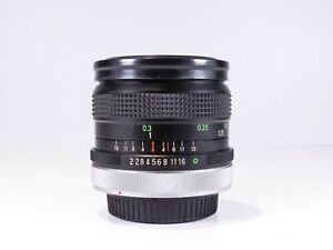 CANON FD FIT VIVITAR 28MM F2 FAST WIDE ANGLE LENS FULL FRAME RARE A1 AE-1