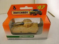 1997 MATCHBOX SUPERFAST #47 MILLITARY M2 BRADLEY TANK NEW IN BOX