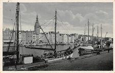 Elbing / Elbląg Hafen Schiffe Postkarte 1939