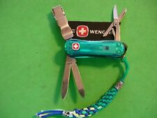 "NTSA VINTAGE SWISS ARMY WENGER MULTIFUNCTION POCKET KNIFE ""EVO SWISS CLIPPER"""