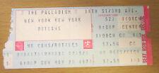 1977 The Outlaws Palladium New York City Concert Ticket Stub Hurry Sundown Tour