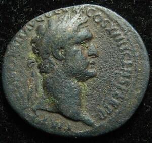 Domitian AE as, FORTVNAE AVGVSTI S C, Rome 88-89AD - RIC 371