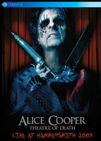 Alice Cooper: Theatre of Death - Live at Hammersmith 2009 DVD (2016) Alice