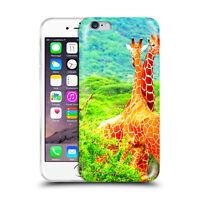 Custodia Cover Design Giraffa Per Apple iPhone 4 4s 5 5s 5c 6 6s 7 Plus SE