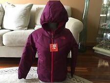 NWT The North Face girls reversible NIKA Jacket in Pamplona Purple Size L