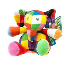 Elmer El Elefante-Mini Sonajero-Super Suave Peluche Sonajero Toyn ** nuevo **