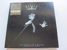 ELVIS PRESLEY KING OF ROCK AND ROLL 5 CDs &  BOOKLET  & STAMP SHEET BOX SET 1992