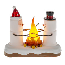 Lighted Flicker S'mores Campers Midwest of Cannon Falls Free Ship Usa