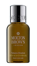 Molton Brown TOBACCO ABSOLUTE Bath & Shower Gel Body Wash 50ml TRAVEL SIZE