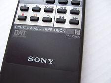 Mando a distancia original Sony rm-d55a - Remote Control-DAT Player-Rare