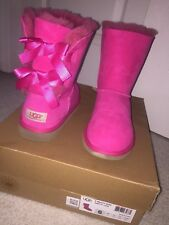 Ugg Australia Pink Bailey Bow Size 6