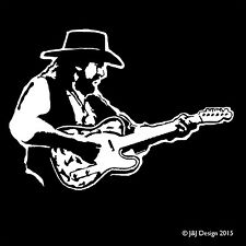 WAYLON JENNINGS Oracal  Decal Window Sticker Country Music Singer Songwriter