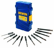 "Irwin Impact Turbomax Drill Bit Set - 0.25"" Diameter - High Speed Steel - 1"