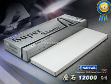 Japanese NANIWA Super Stone #12000 grit Whetstone High Quality Sharpening Stone