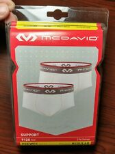 New 2 Pack McDavid 9120 Classic PeeWee Brief w Cup Pocket Regular Size Ages 4-6
