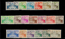 Série Timbres de Guadeloupe N° 178 --> 196 neuf **