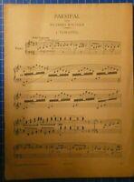 Parsifal von Richard Wagner 1.Vorspiel 1914 Verlag Ullstein Berlin H8213