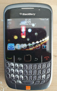GREY BLACKBERRY 8520 CHEAP MOBILE PHONE-UNLOCKED WITH NEW USB LEAD AND WARRANTY
