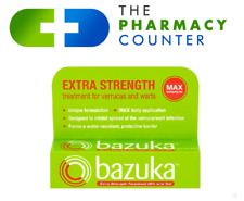 Bazuka Extra Strength Treatment for Verrucas and Warts MAX Strength Gel 6gm Tube