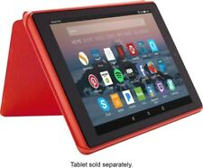 Amazon Fire HD 8 Tablet Case (7th Generation 2017 Release) Punch Red - No Box VG