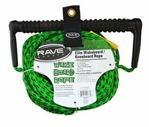 NEW Rave 75' 3-Section Wakeboard - Kneeboard Rope EVA Swirl Grip - Elite