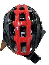 Lazer tonic bike helmet, Black/red (Small)
