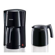 Severin KA 9234 Schwarz Filter-Kaffeemaschine zwei Isolierkannen 800 Watt