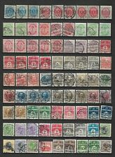 Denmark 2 pages old stamps